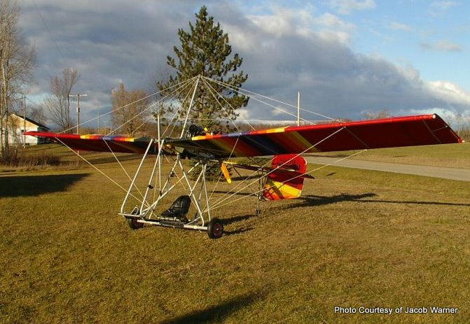 Rotec Rally 2 B ultralight, ultra lite aircraft