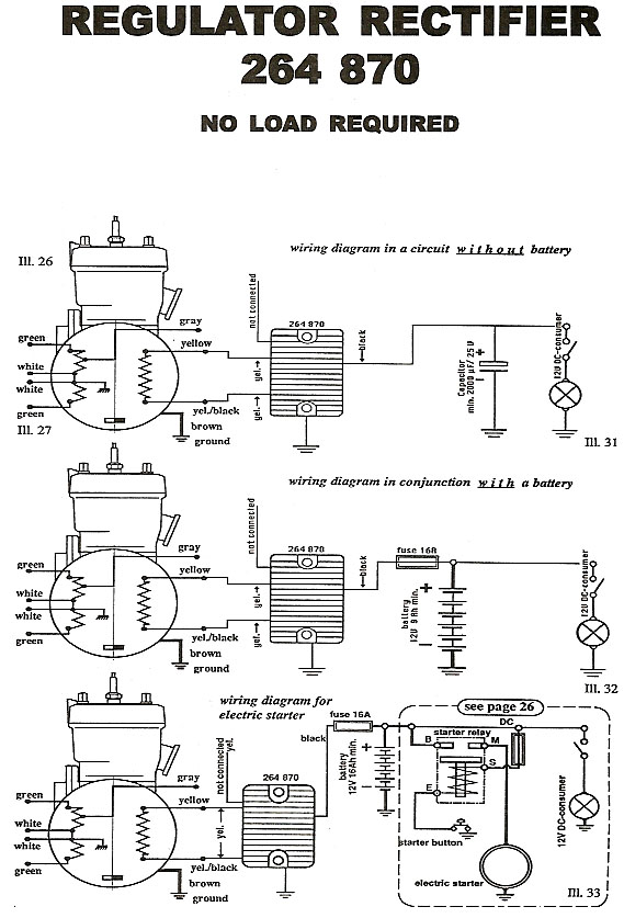 264 870wiringdiagram rectifier wiring diagram for 264 780 regulator rectifier regulator wiring diagram images at edmiracle.co