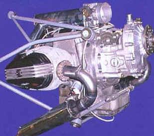 BMW aircraft engine conversion using a Rotax C drive