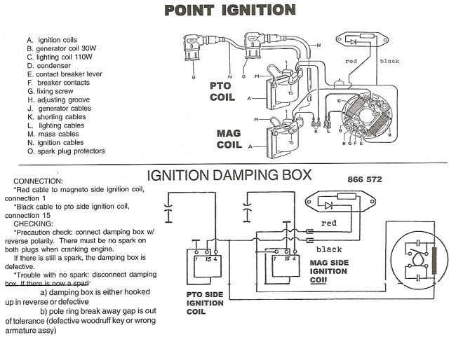rotax points ignition wiring diagram, bosch points ignition 866 080 rectifier at Rotax 503 Wiring Diagram