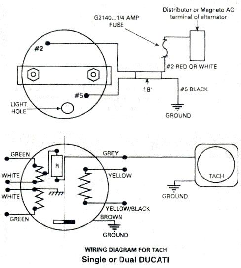ducati ignition, ducati ignition tachometer wiring diagram caterpillar tachometer wiring diagram tachometer wiring diagram #7