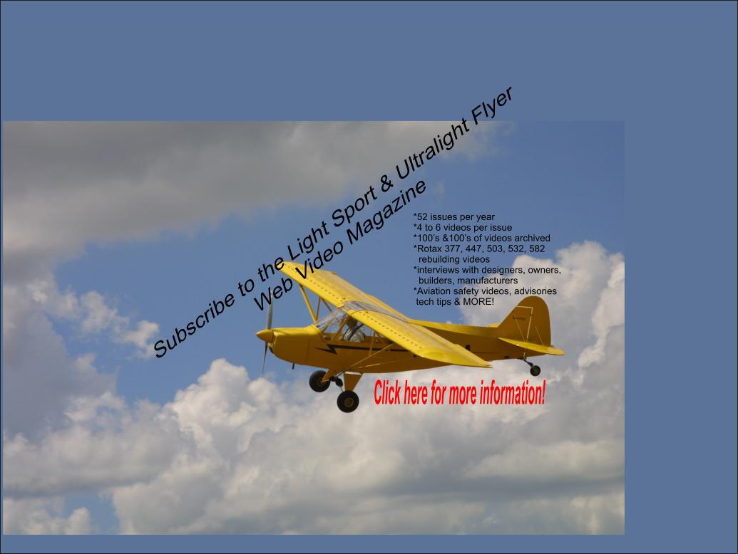 Ultralight aviation websites, ultralight aircraft websites