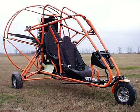 Buckeye Aviation, Buckeye Aviation's Breeze two seat powered parachute, Buckeye Breeze PPC.