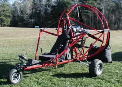Blue Heron Spirit 103 single place powered parachute