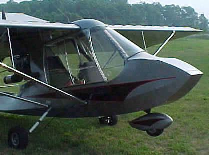 Challenger ultralight doors & Flying the Challenger ultralight aircraft with doors Quad City ...