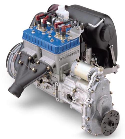 on Rotax 277 Engine Parts
