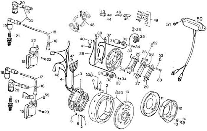 rotax bosch points ignition wiring diagram rotax bosch ignition wiring diagram rotax 447 wiring diagram at alyssarenee.co