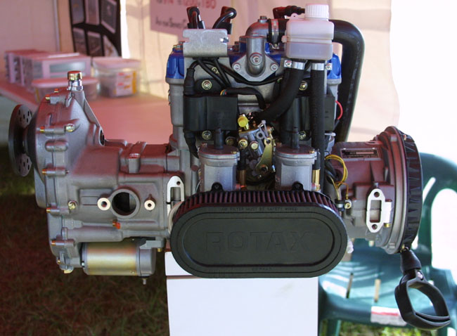 Rotax 912 aircraft engine versus Rotax 582, Rotax 618 2 stroke ...