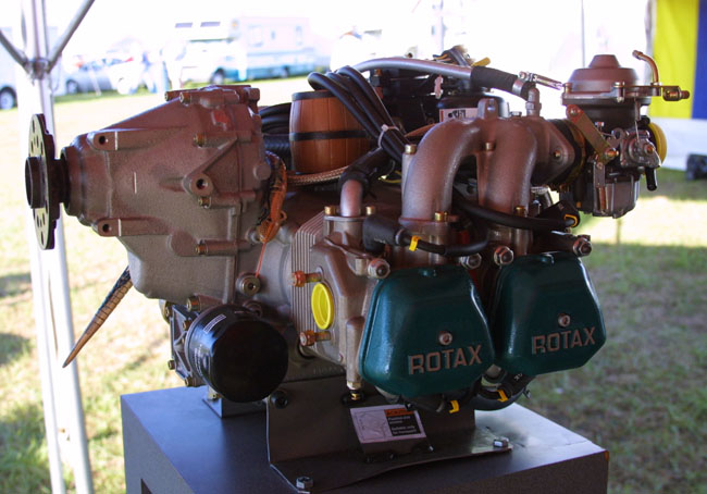 912 Rotax engine, Rotax 912 aircraft engine specifications