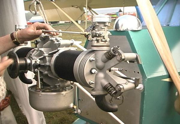 Amtec Buddy Twin aircraft engine, Amtec Buddy Twin 4 stroke