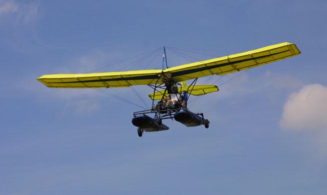 Lil Hustler ultralight aircraft, Lil Hustler two place