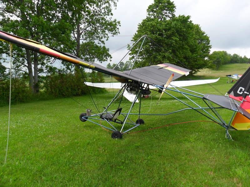 Fabric testing ultralight aircraft dacron sails